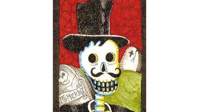 These whimsical renditions of skulls and skeletons are used in many forms of artwork, toys and mini-shadowboxes.