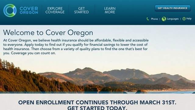 Cover Oregon website, January 10, 2014.