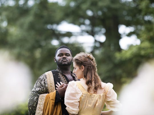 John Holiday stars as Xerxes in the Glimmerglass Festival production of the eponymous opera.