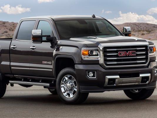 2015 GMC Sierra All-Terrain HD pickup truck