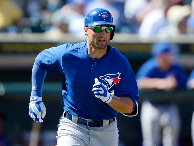 Blue Jays outfielder Kevin Pillar suffered a strained