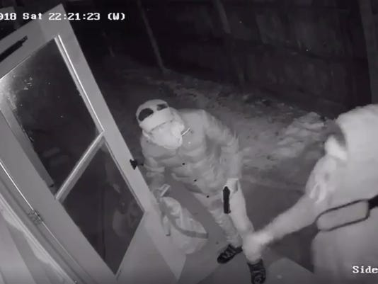 Milwaukee burglar camera