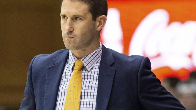 """Brown men's basketball coach Mike Martin is among 16 from the Ivy League making the """"Ivy Promise."""""""