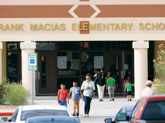 Frank Macias Elementary School in the Clint Independent School District held a meeting Thursday to discuss the possible tuberculosis exposure at the campus. Although more than 70 parents attended the meeting, several weren't let in because of privacy concerns.