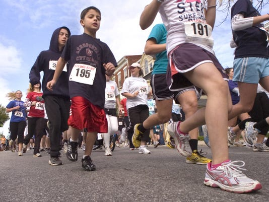 The YWCA York's Race Against Racism will be held April 25. This is a scene from the 2011 race.