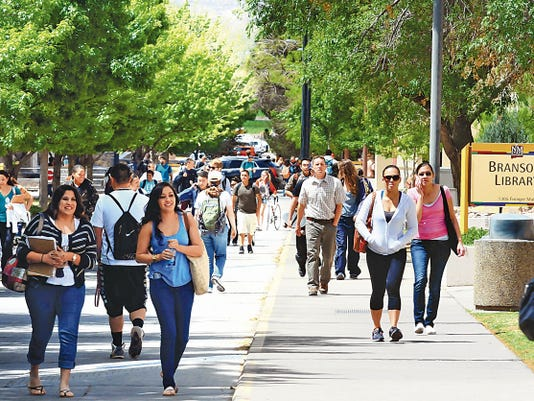 Robin Zielinski/Sun-News file photo   More than 17,000 students enrolled on the NMSU main campus last year.