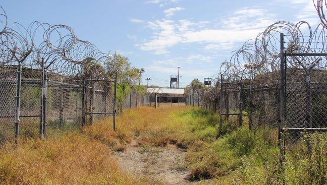 Camp X-Ray was the first detention facility that was used at Guantanamo in January 2002.  Detainees stayed there for about 90 days until they were moved to a more permanent location. It is no longer in use.