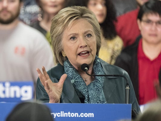 Hillary Clinton Campaigns In Washington State