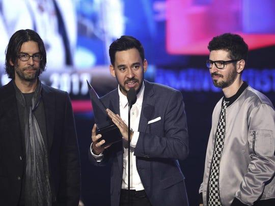Rob Bourdon,Mike Shinoda,Brad Delson