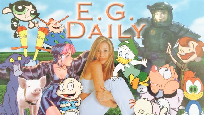 """Actress E.G. Daily has played numerous cartoons over the years, from Buttercup in """"The Powderpuff Girls"""" to Tommy Pickles in """"Rugrats."""""""