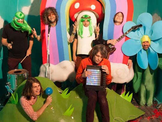 The Flaming Lips take the stage at Waterfront Park