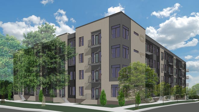 Belcourt Park will rise at 1710 Belcourt, the 0.68-acre former Belcourt Terrace Nursing Home site.