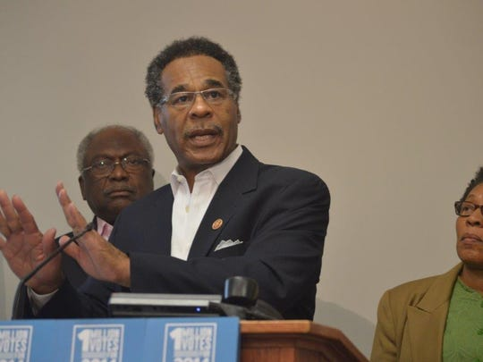 """Rep. Emanuel Cleaver, D-Mo., and other members of the Congressional Black Caucus will travel across the country, including Louisiana, to boost black voter turnout. The caucus is kicking off """"Freedom Sundays'"""" this weekend, asking religious leaders to urge blacks to register and vote."""