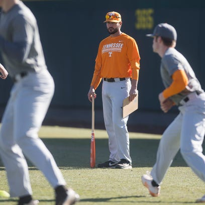 University of Tennessee baseball head coach Tony Vitello