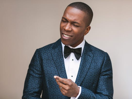 "Leslie Odom Jr., who performed as Aaron Burr in ""Hamilton,"""