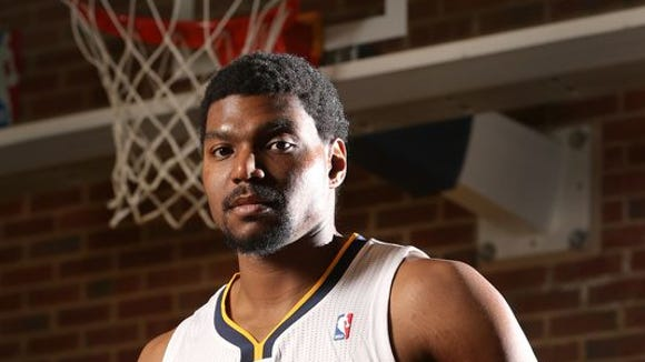 Andrew Bynum will not be in the Pacers' lineup anytime soon.