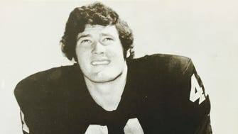 Ocean's Phil Villapiano was taken in the second round of the 1971 NFL Draft by the Oakland Raiders.