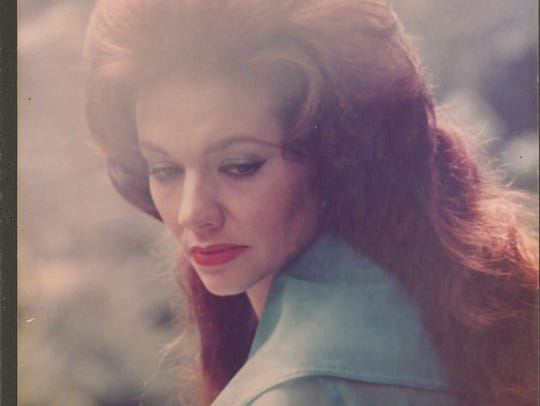 A pensive photo of Billie Jean Horton in California