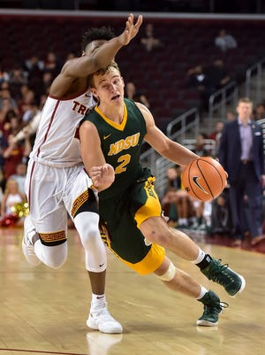 Paul Miller, a Kettle Moraine graduate, leads the North Dakota State Bison with 18.9 points per game and also holds the team lead in assists with 3.7 per game. He poured in 36 points in a game earlier this season.