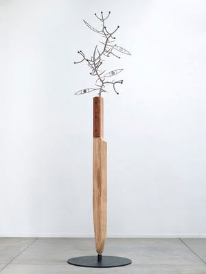 """Cutting through the Thorn Tree"" James Surls"