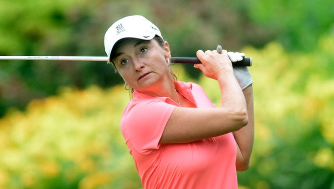 Amy Kennedy easily won her quarterfinal match in the WYCAGA championships on Tuesday, putting her in the semifinal round.