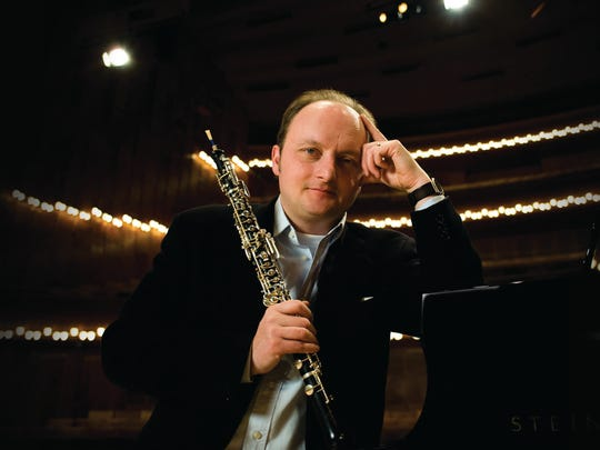 Oboist Francois Leleux is the featured guest soloist in the Oregon Symphony's concert at 8 p.m. Jan. 8 at Smith Auditorium, Willamette University. The Oregon Symphony Association in Salem will kick off a major fundraising drive at the concert.