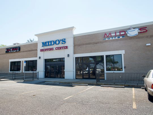 Mido's coffee shop and hookah lounge in Pensacola on