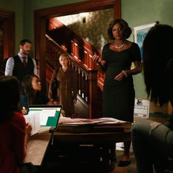 "Viola Davis in a scene from Thursday's season finale of ""How to Get Away with Murder."""