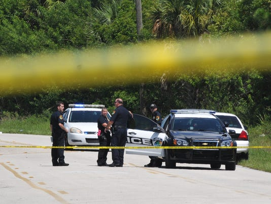 Titusville robbery and shooting