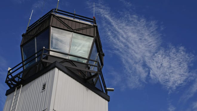 The flight tower at McNary Field in Salem. Photographed on Thursday, Jan. 12, 2012.