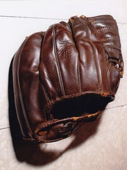 Havlish's three- fingered glove was donated to the