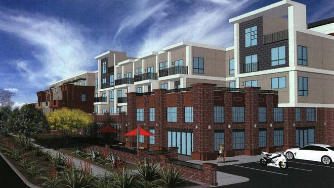 Alta Osborn, a 277-unit apartment complex planned in downtown Scottsdale, won approval from the City Council on Tuesday, Nov. 15, 2016.