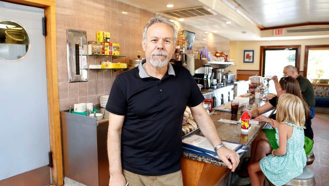 Dobbs Diner Owner Aristides Garganourakis said he and his staff did everything they could after the incident, giving Michael Trent the restaurant's insurance information and the name of his meat supplier.