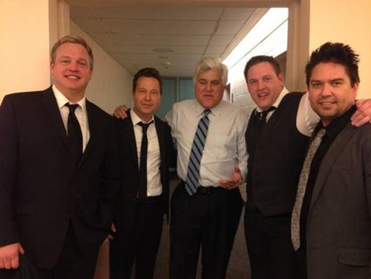 The guys --(from left to right) Darren Rust, Tim Kasper
