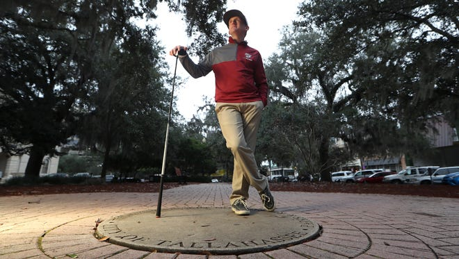 Chiles senior Bryce Johnson is the 2017 All-Big Bend Player of the Year for boys golf after winning Big Bend and city titles, becoming only the second person to do so in the same season.