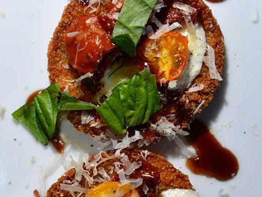 EGGPLANT PIZZA From Shayne Taylor, Executive Chef at the Pensacola Country Club.