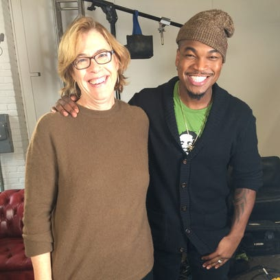 "Mary Murphy and Ne-Yo in rehearsal for ""The Making"