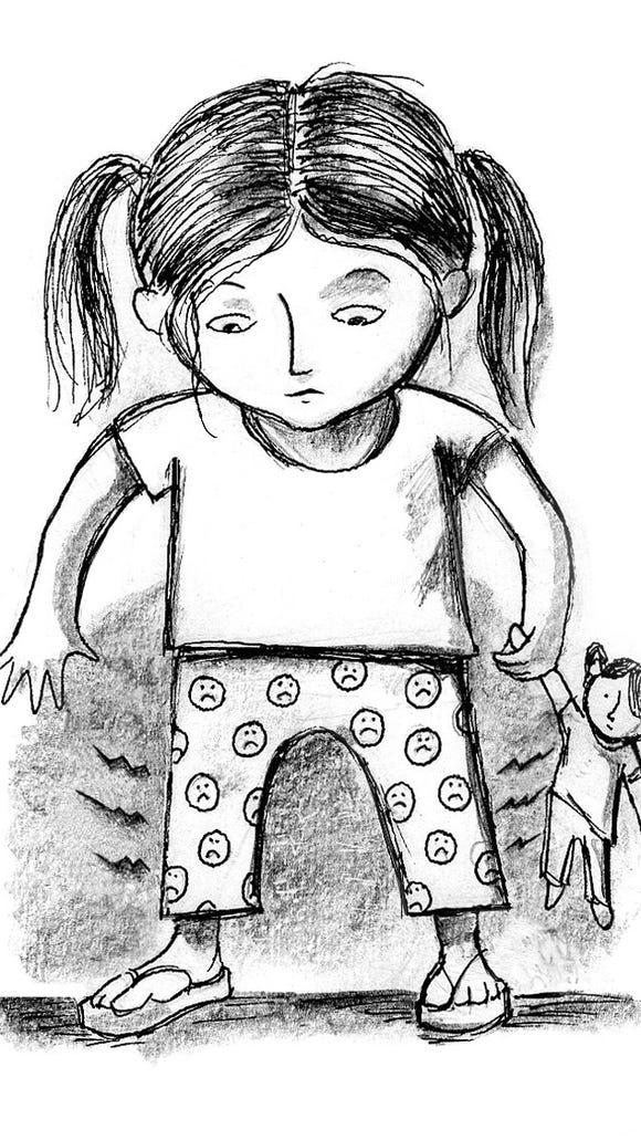 An illustration by Phoenix artist Kee Rash from John