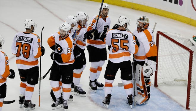 Goalie Michal Neuvirth and the Flyers still get that special feeling for the season opener.