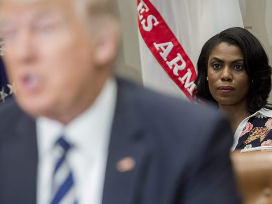 Omarosa Manigault Newman, then White House Director