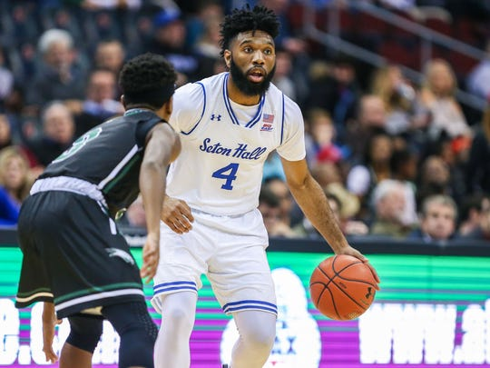 Seton Hall guard Eron Gordon, who hails from the Midwest.