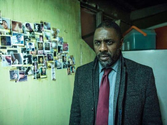 18. 'Luther'   Idris Elba