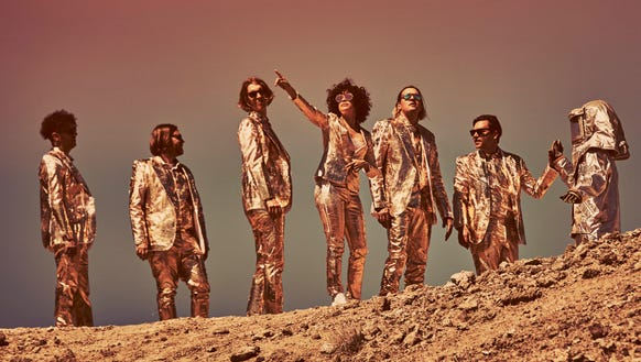The members of Arcade Fire.