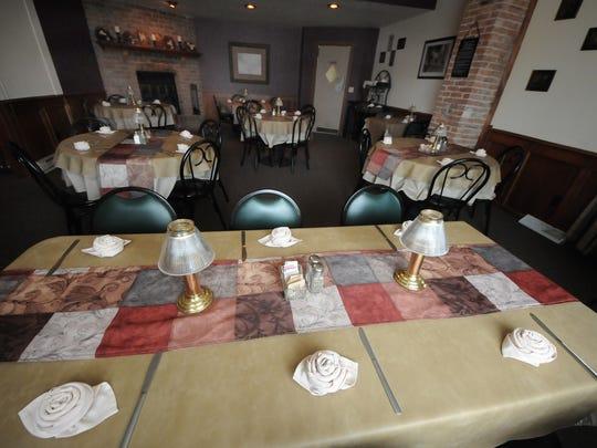 Dining room at The Olde Opera House, 23 W. Oak St., Sturgeon Bay.