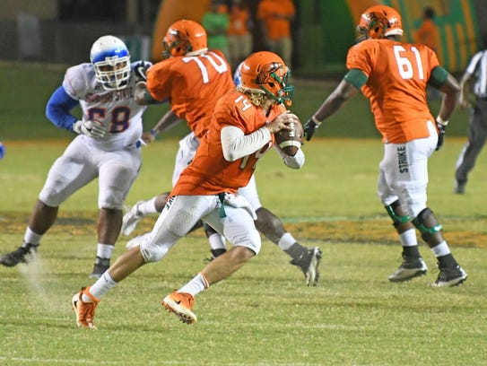FAMU quarterback Ryan Stanley and the Rattlers close