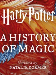 """This cover image released by Audible shows """"Harry Potter:"""