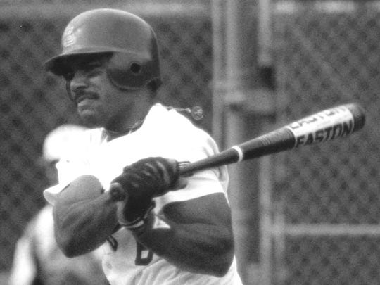 Former UL outfielder Papo Ramos was known for his power at the plate back in the day.