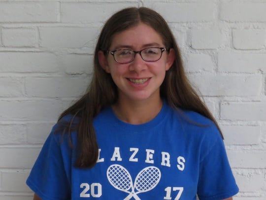 Sofia Feigelson, Millbrook tennis