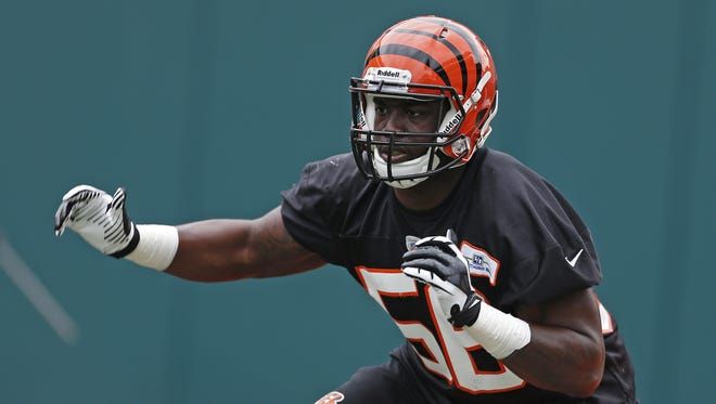 Linebacker Sean Porter has resumed practicing this week for the Cincinnati Bengals as he recovers from a torn ACL.