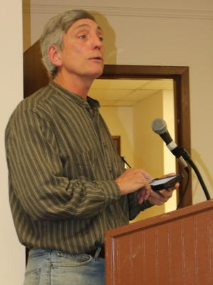 Barry Benson of Port Jervis proposed a PortJervis-Narrowsburgh triathlon.